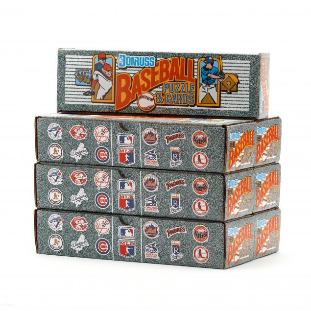 seven-boxes-of-1990-donruss-baseball-and-puzzle-cards