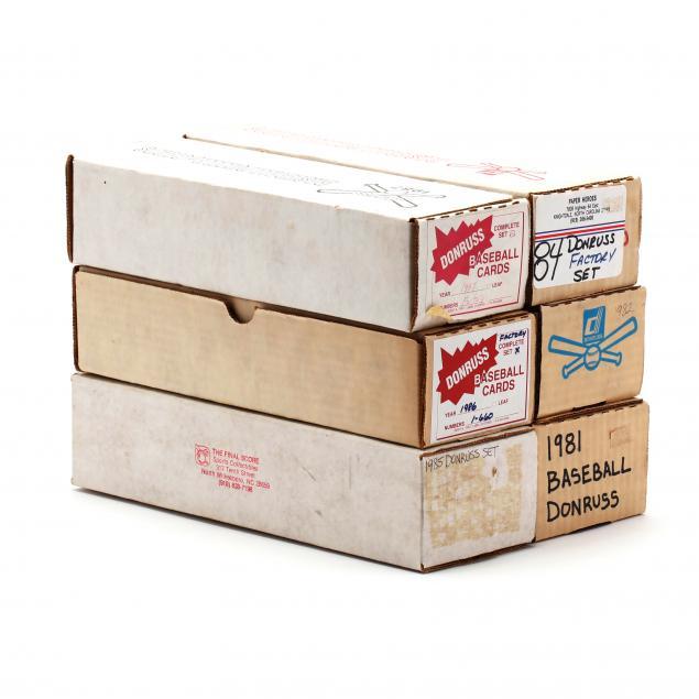 six-donruss-1980s-baseball-card-boxed-sets