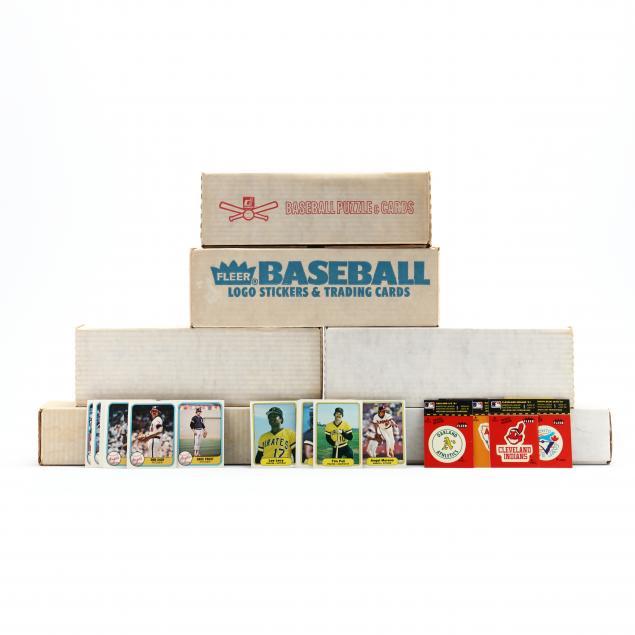 five-fleer-1980s-baseball-card-boxed-sets