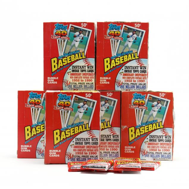 six-topps-40-years-of-baseball-boxed-sets-of-cards