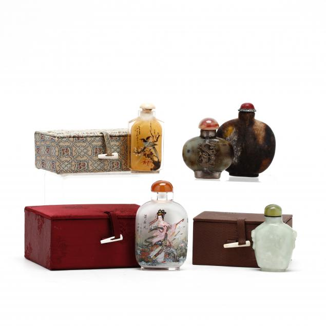 five-chinese-snuff-bottles
