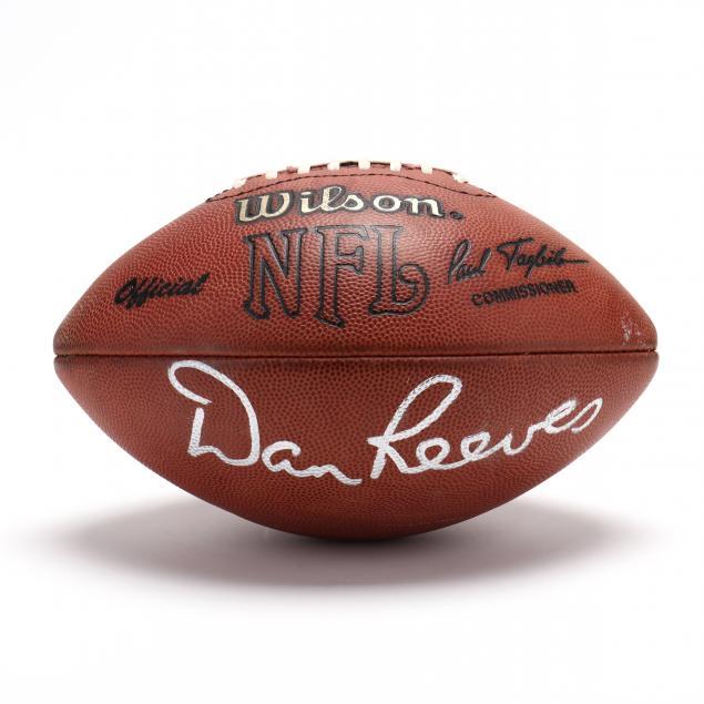 dan-reeves-signed-dallas-cowboys-football