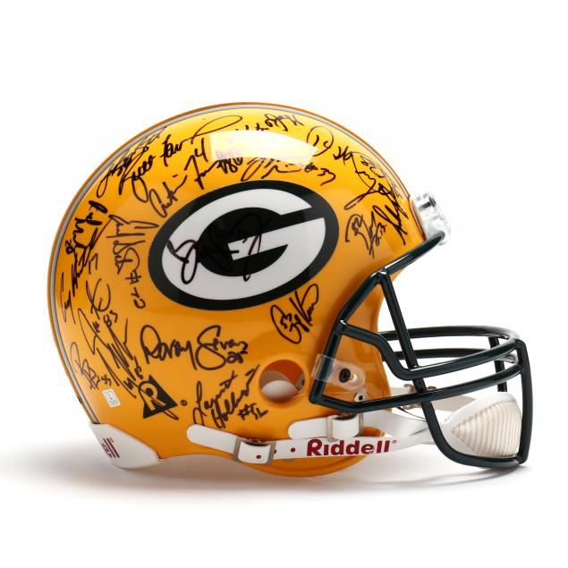 1996-green-bay-packers-team-signed-helmet-with-coa