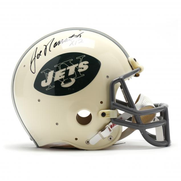 joe-namath-autographed-new-york-jets-football-helmet