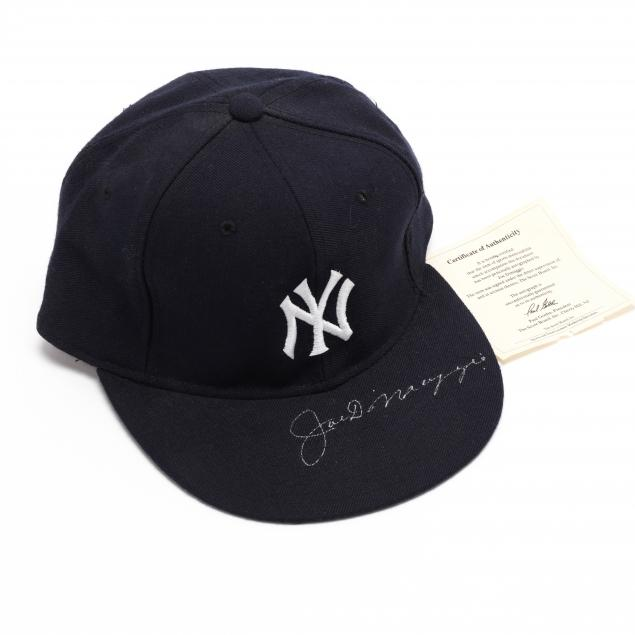 joe-dimaggio-signed-new-era-baseball-cap-with-coa