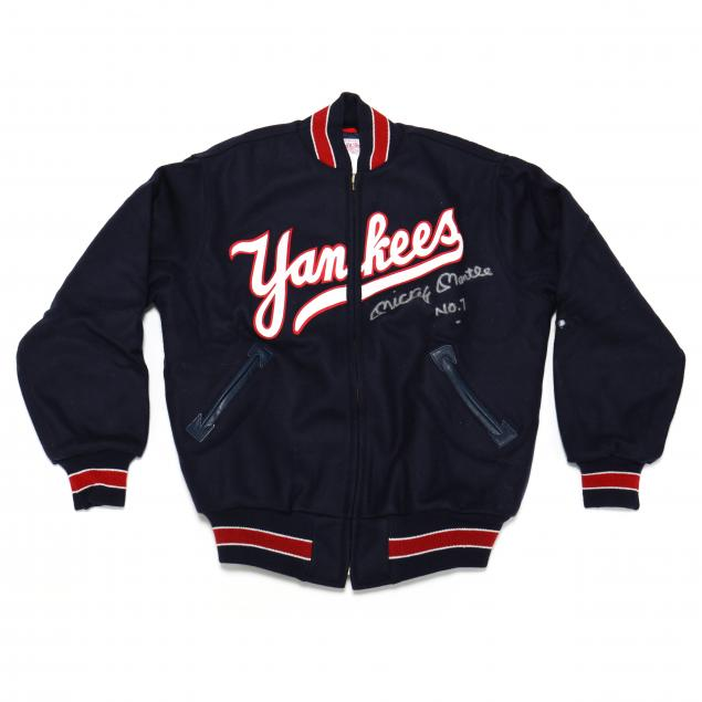 mickey-mantle-signed-replica-1951-ny-yankees-jacket