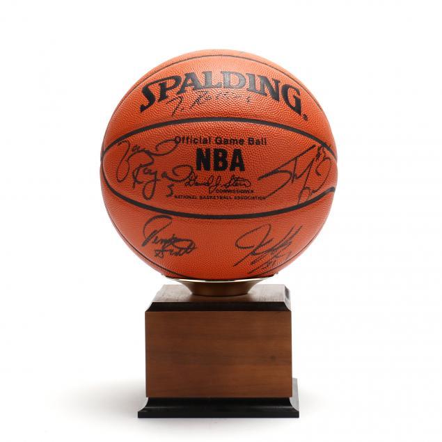 orlando-magic-1994-95-team-signed-basketball