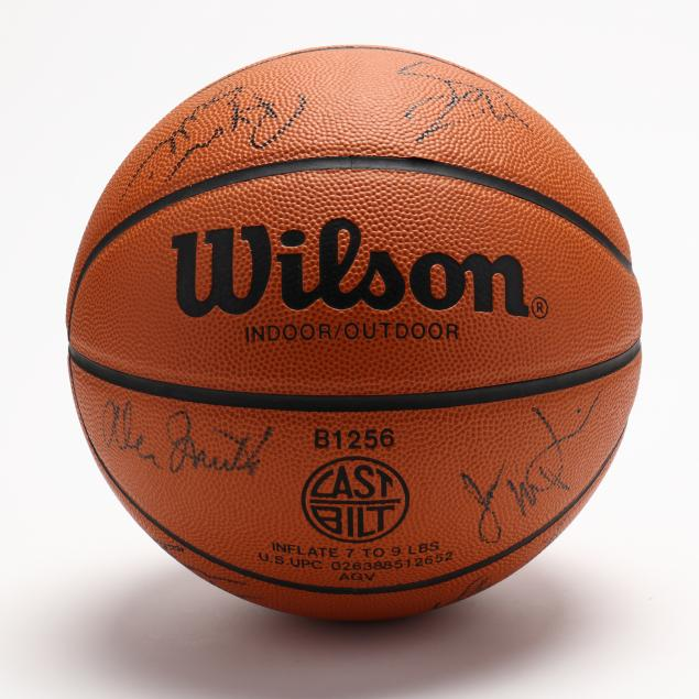 unc1993-94-championship-team-signed-basketball