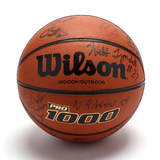unc-1994-95-team-signed-basketball