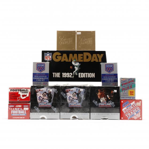 twelve-1988-89-91-nfl-pro-football-card-sets-score-action-packed-pro-line