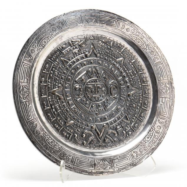 a-sterling-silver-aztec-motif-charger