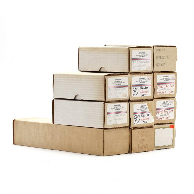 eleven-1989-90-91-hockey-boxed-sets