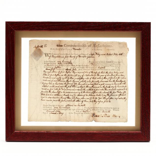 rare-18th-century-writ-prepared-by-john-quincy-adams-as-a-young-attorney