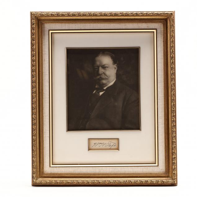 27th-u-s-president-william-howard-taft-possibly-clipped-signature