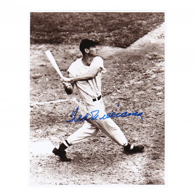 ted-williams-signed-photograph-with-coa