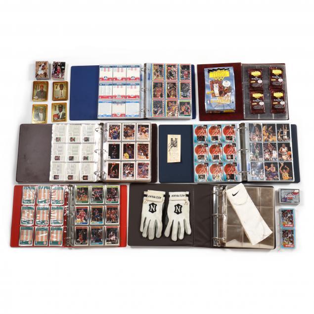four-nba-basketball-collector-card-albums-plus-additons
