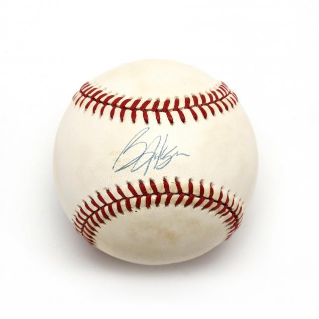 bo-jackson-autographed-mlb-baseball-kansas-city-royals