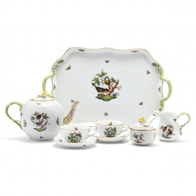a-herend-rothschild-bird-tea-set