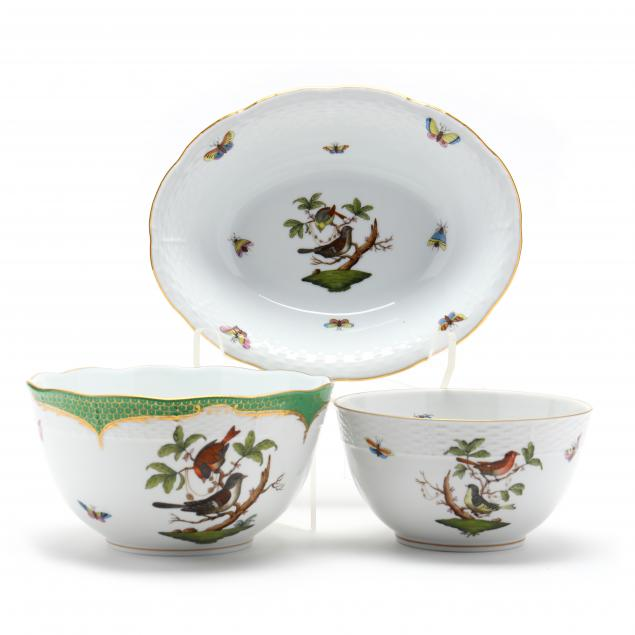 three-herend-rothschild-bird-bowls