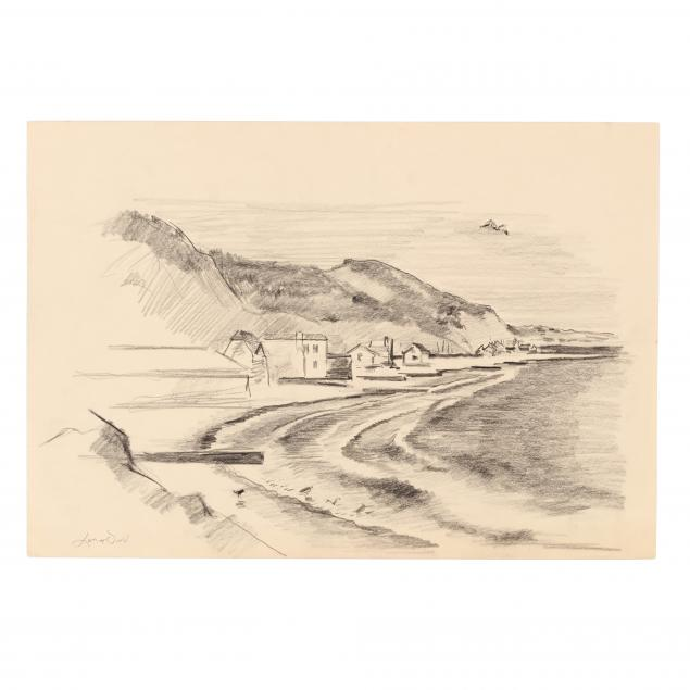 lamar-dodd-ga-1906-1996-coastal-sketch