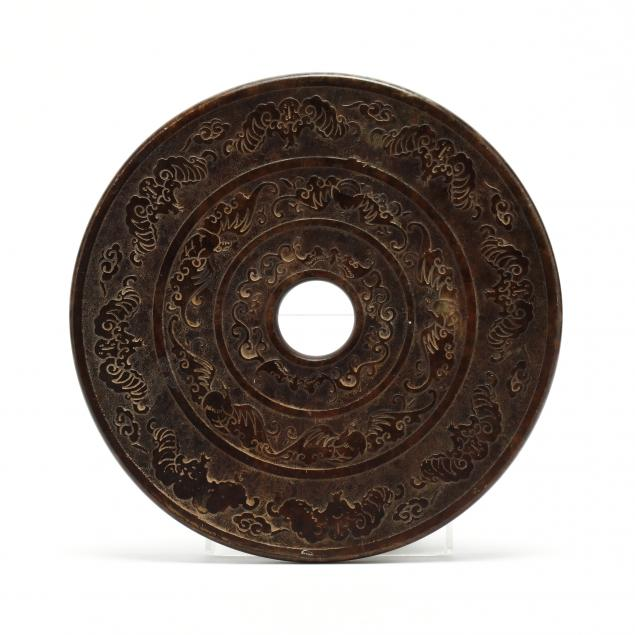 a-large-carved-hardstone-bi-disc-chinese