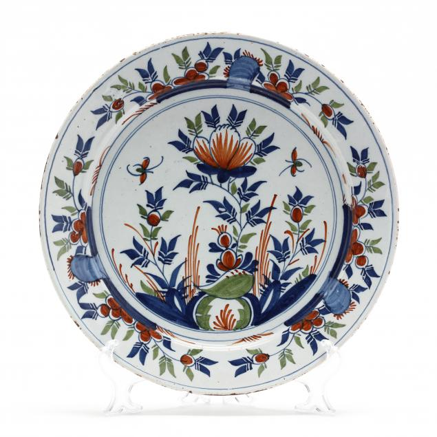 english-delft-floral-charger