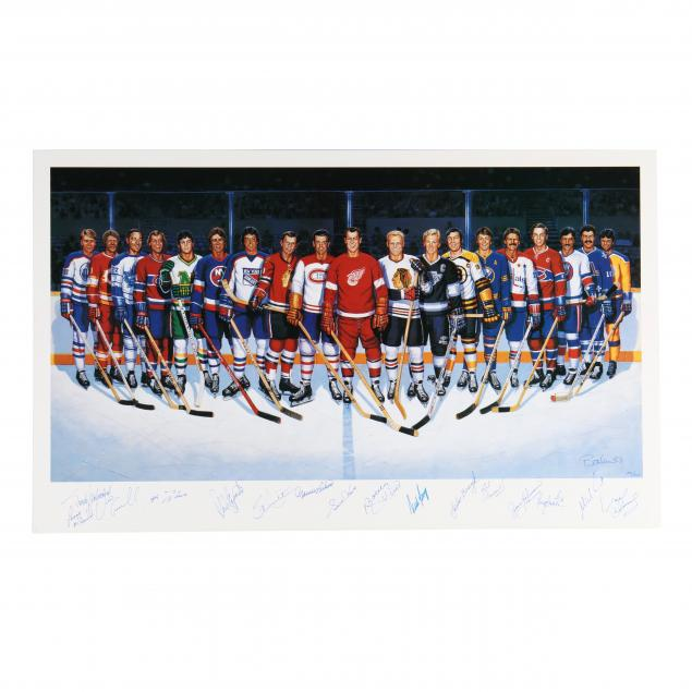 500-goal-scorers-autographaped-hockey-poster