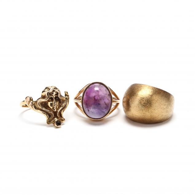three-gold-rings