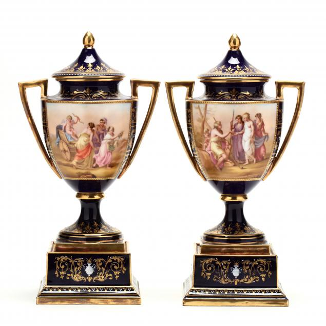 a-pair-of-royal-vienna-mantel-urns