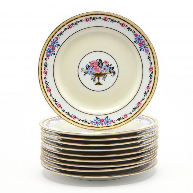 a-set-of-ten-limoges-dessert-plates