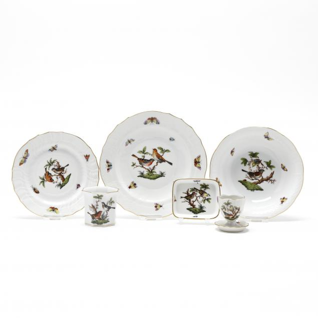 a-selection-of-herend-rothschild-bird-porcelain