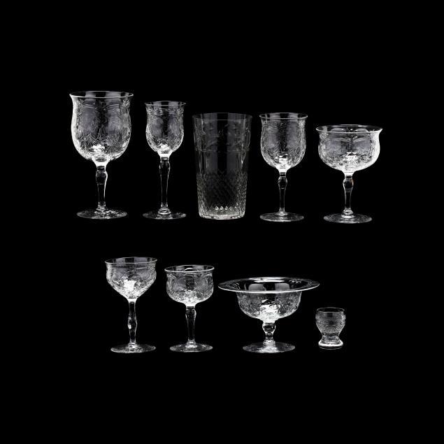 webb-94-pieces-of-vintage-corbett-engraved-stemware