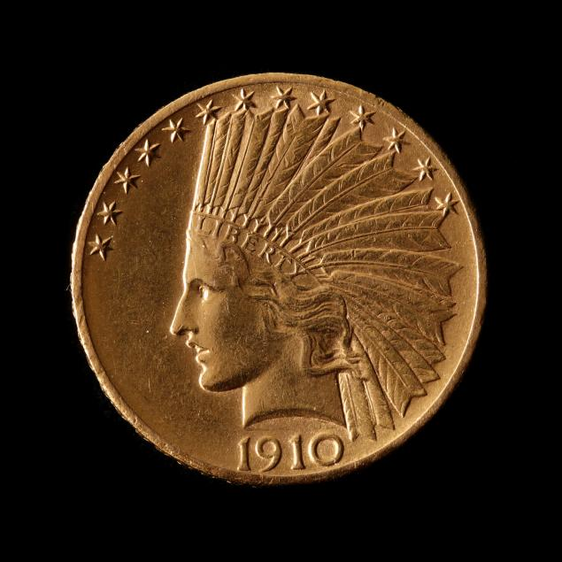 1910-d-10-gold-indian-head-eagle