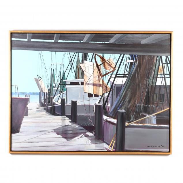 paul-minnis-nc-along-the-dock
