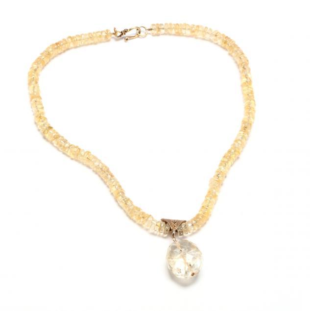 vermeil-citrine-necklace