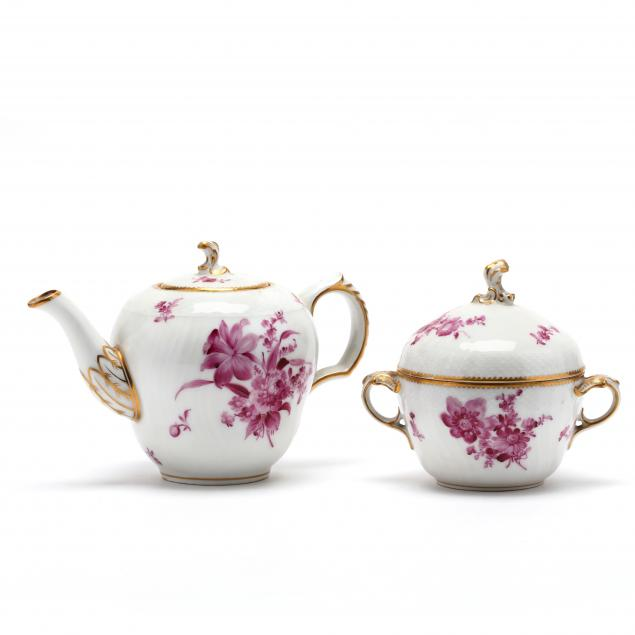 two-pieces-of-antique-royal-copenhagen-porcelain