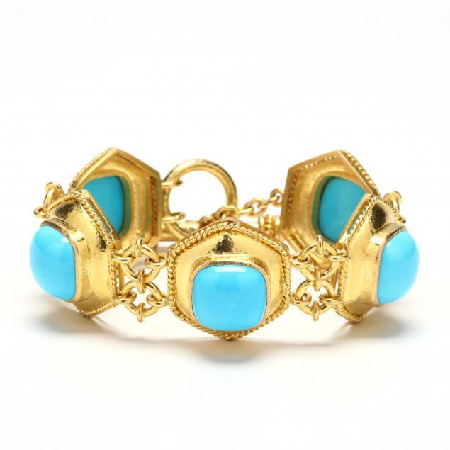 19kt-gold-and-turquoise-bracelet-elizabeth-locke