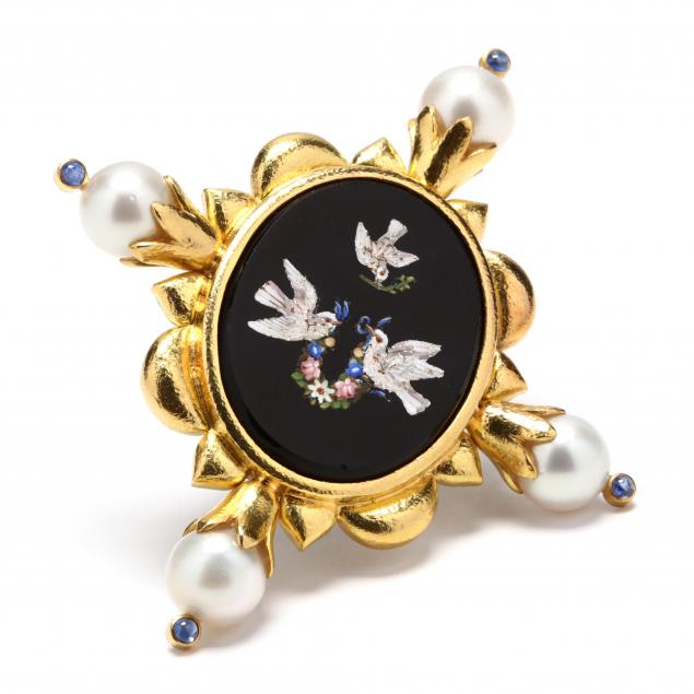 18kt-gold-micro-mosaic-and-pearl-brooch-elizabeth-locke
