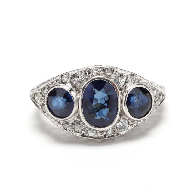 white-gold-sapphire-and-diamond-ring