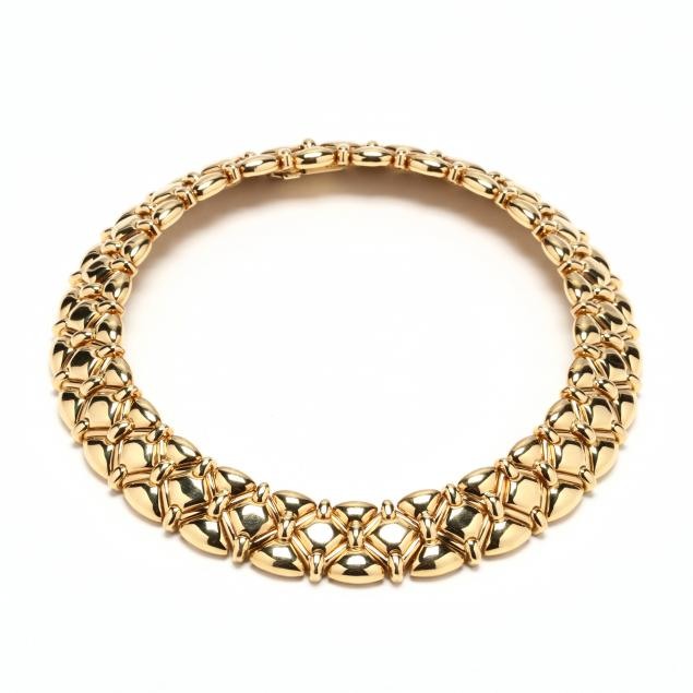 18kt-wide-gold-choker-necklace-craig-drake