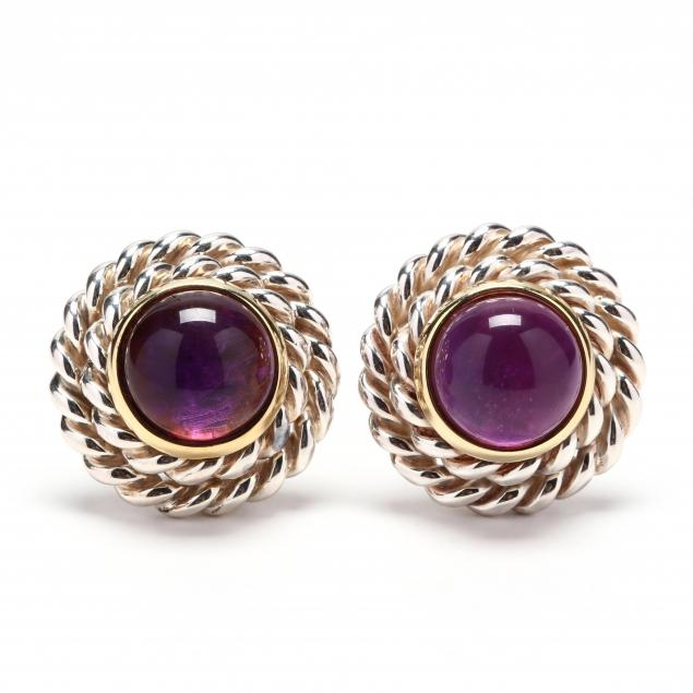 sterling-silver-18kt-gold-and-amethyst-earrings-tiffany-co