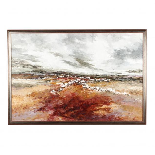 phyllis-del-vecchio-20th-21st-century-i-connemara-landscape-i