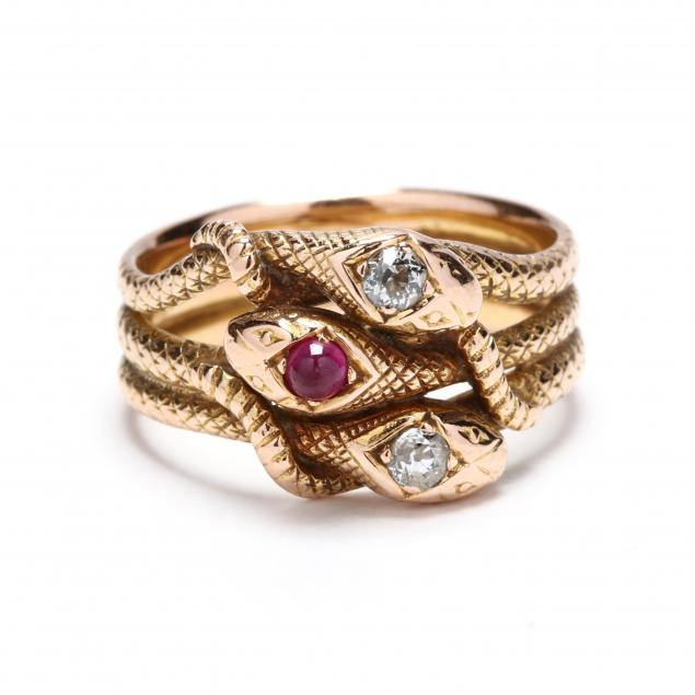 gold-diamond-and-ruby-serpent-ring