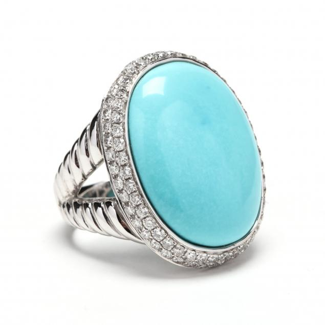 18kt-white-gold-turquoise-and-diamond-ring-david-yurman