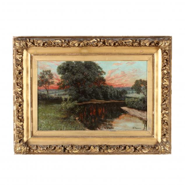 william-t-robinson-ma-1852-1934-sunset-landscape