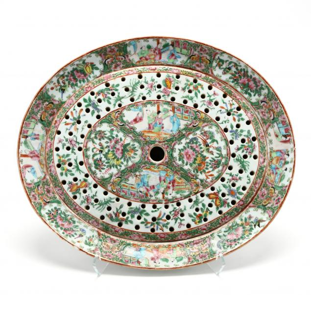 chinese-export-famille-rose-roast-platter-with-drain-insert