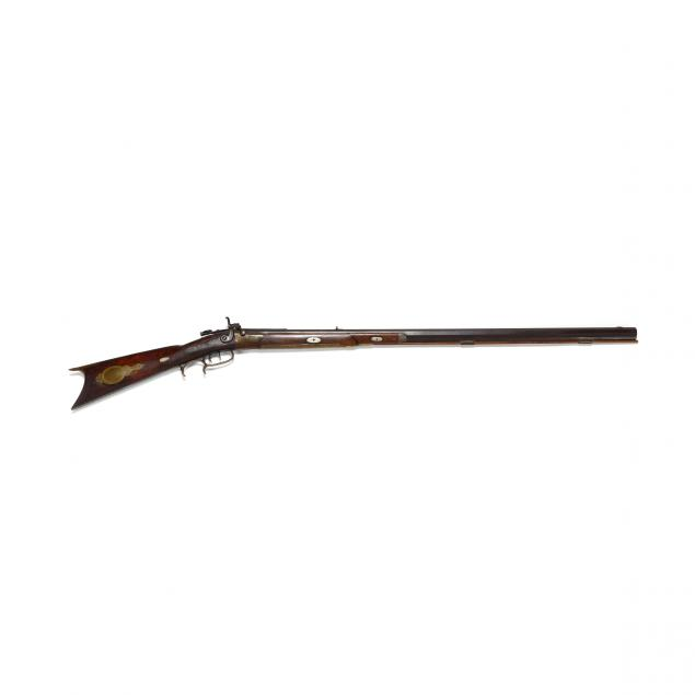 pennsylvania-percussion-half-stock-rifle-by-charles-flowers