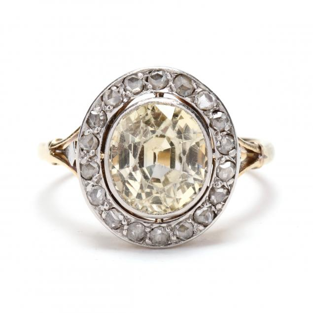 platinum-gold-yellow-sapphire-and-diamond-ring-france