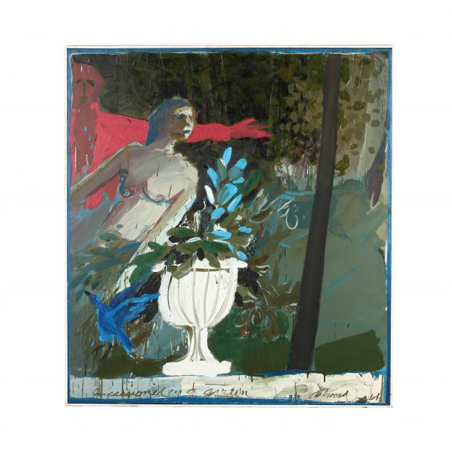 maud-gatewood-nc-1934-2004-i-impassioned-in-a-garden-i