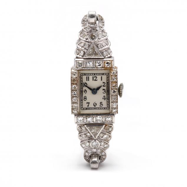 lady-s-antique-platinum-and-diamond-watch-hamilton